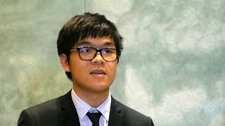 GO champ Ke Jie  talks about his match with Google