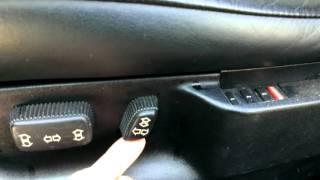 Е34 Передние сиденья с полным электропакетом Ч.4 ремонт BMW E34