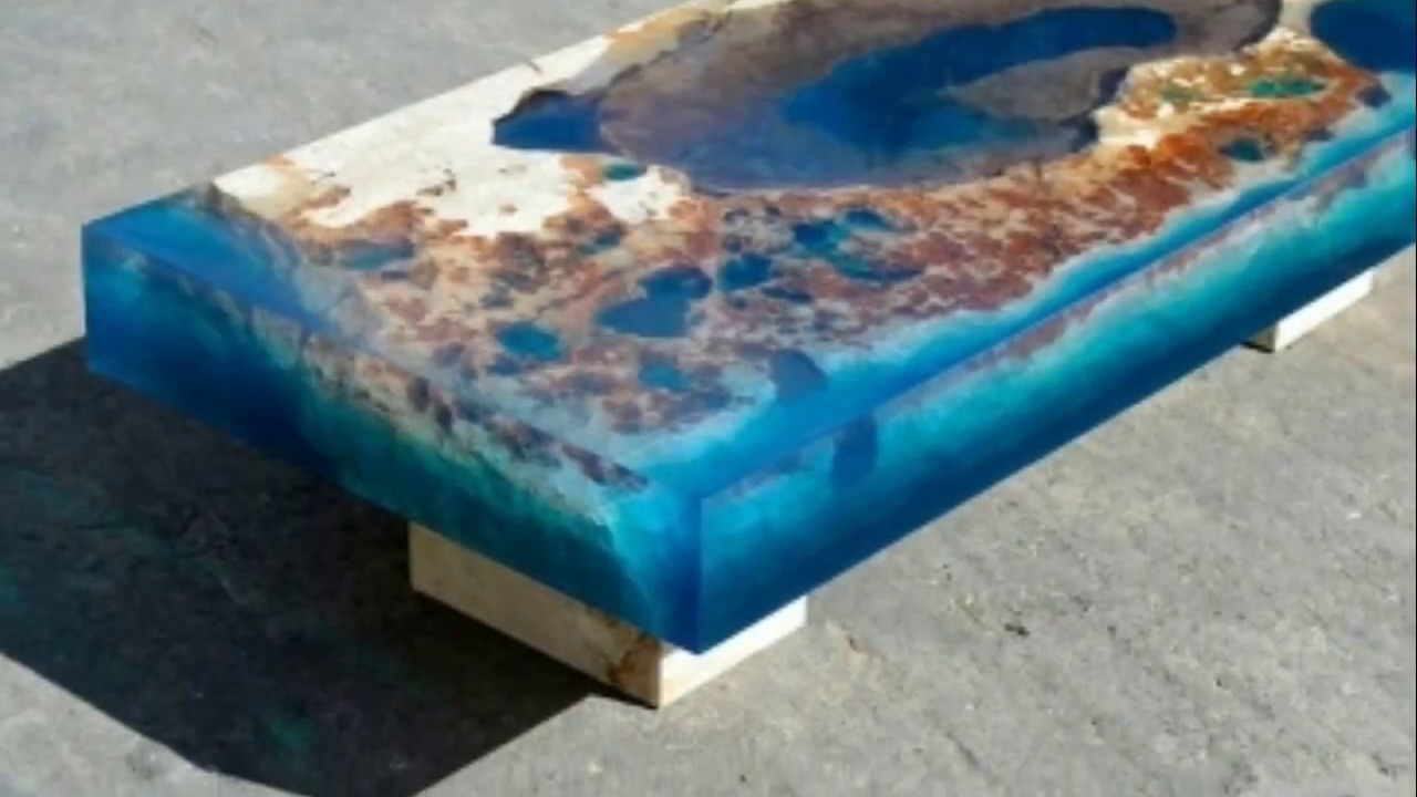 20 Crazy Resin Table Top Ideas Wood