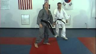Hapkido Basic Kicks 21 thru  25, Ji Han Jae