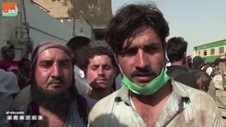 غرفة الأخبارسياسة  قطار الموت في كراتشي.. بقايا ركاب