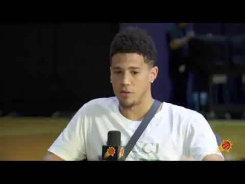 Devin Booker breaks down the creation of his newest Nike Kobe KICKS!