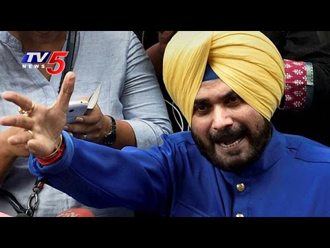 Navjot Singh Sidhu's Reverse Sweep | Awaaz-e-Punjab | Telugu News | TV5 News