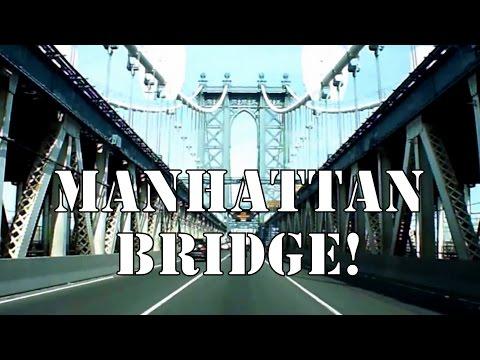 Driving Through The Manhattan Bridge and Holland Tunnel