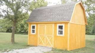 A Gambrel Roof Mini Barn