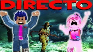 ROBLOX LIVE🔴TERROR MAPS WE PLAY WITH THE FIGURES!