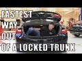 How To QUICKLY Escape From a Locked Trunk