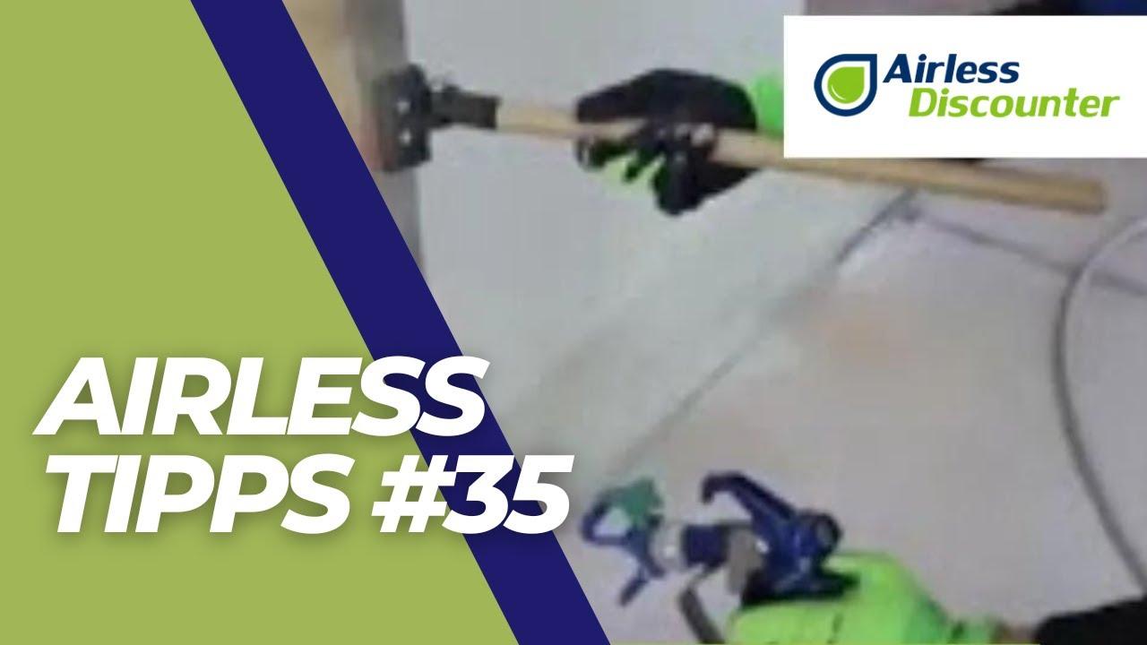 Airless Tipps #35 - Airless-Schild richtig einsetzen