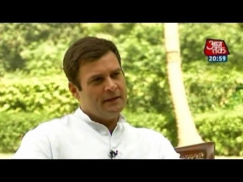 Exclusive: Rahul Gandhi's most candid interview