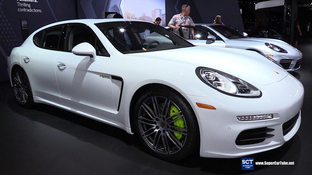 2016 Porsche Panamera S E Hybrid Exterior And Interior Walkaround 2015 La Auto Show