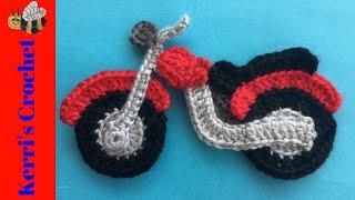 Crochet Motorbike Tutorial