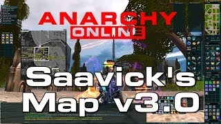 Anarchy Online  -  Saavick's Map of Rubi-Ka update - v3.0