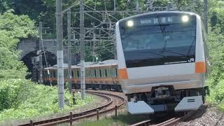 20200629 東海道本線9852M E233系0代 八トタT71編成 性能確認試運転