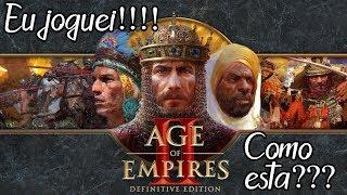 Age of Empires 2 Definitive Edition (BGS 2019) - Eu Joguei!!! Como está???