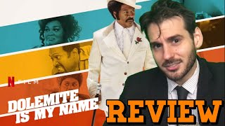 Dolemite is My Name (Netflix) - Movie Review