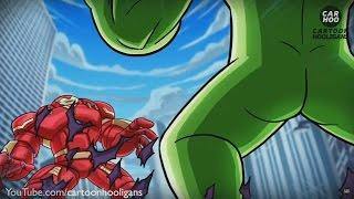Que PasarÍA Si A Hulk Se Le Caen Los Pantalones ? AnimaciÓN