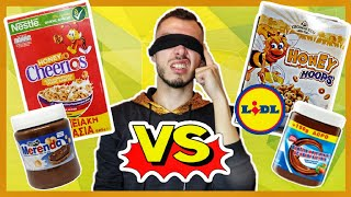 Brand name VS Lidl (δοκιμή challenge) | Tsede The Real