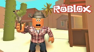 Roblox Cowboys Vs Sheriffs - Wild Revolvers !    Roblox Gameplay    Konas2002