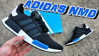 Adidas NMD Runner Black/Blue - Review + On Foot