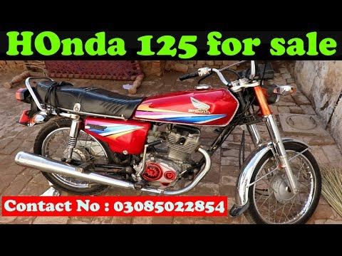 Honda 125 For Sale Best Cheap Price Rates Full Review Condition Details