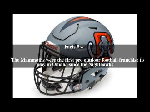 Omaha Mammoths Top # 5 Facts