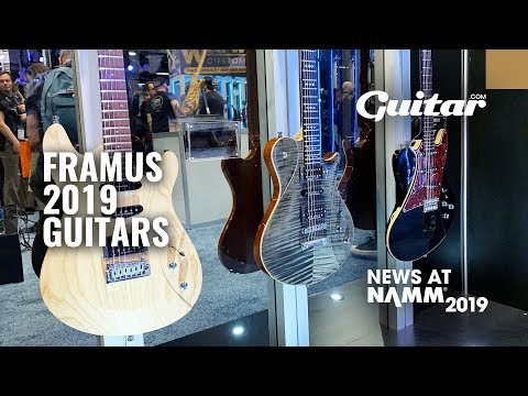 First Look: Framus' gorgeous 2019 guitar range #NAMM2019