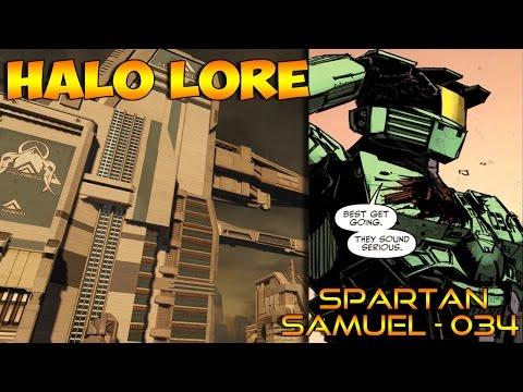 Halo Lore: Samuel - 034 , SPARTAN II (Halo Universe)