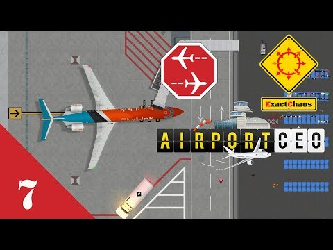 Airport CEO Let's Play 7 - Baggage Handling