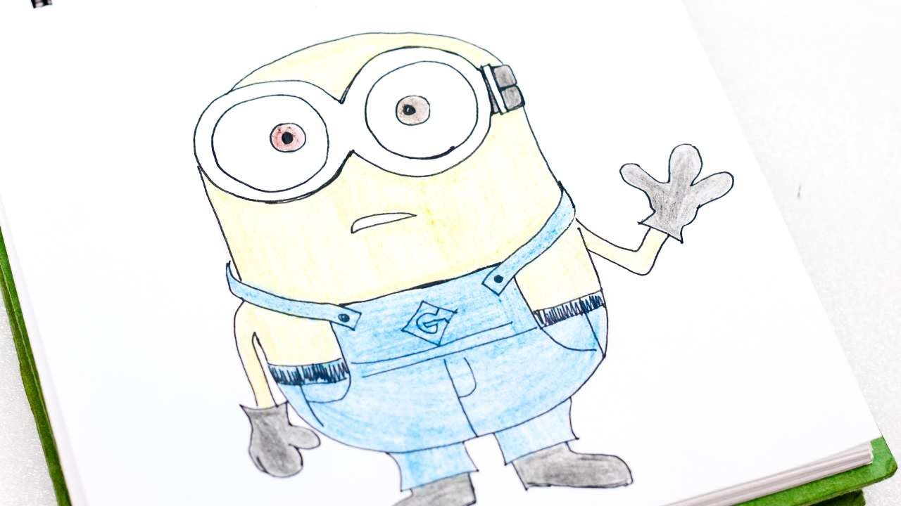Show me how to draw a minion - How To Easily Draw Bob The Minion Diy Tutorial Guidecentral Youtube