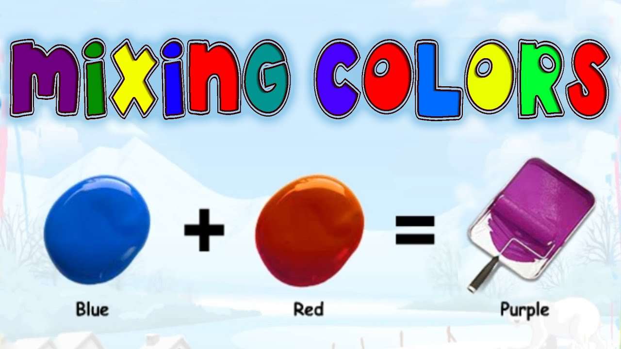 Online color wheel games - Mixing Matching Colors Secondary Colors Learning Basic Colors Video For Kids Preschoolers Youtube