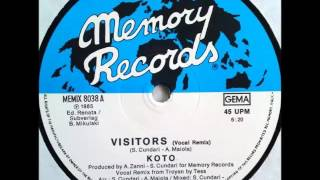 Koto - Visitors (Vocal Remix) 1985