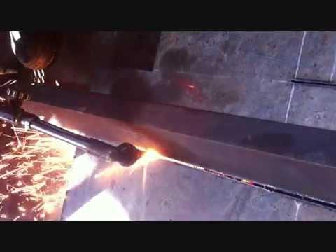 Cutting plat besi 5mm PT AZIZ JAYA ABADI Kerek Tuban YouTube
