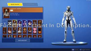 Free Fortnite Account (Read Description) (Black Knight,Eon,Galaxy, And More) (2019) (Giveaway)