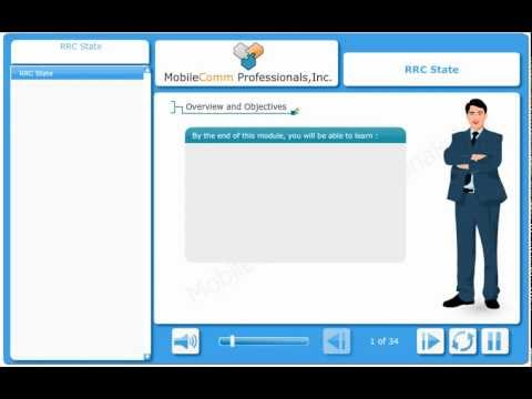 UMTS RRC State (E-Learning Demo)