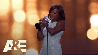 Viola Davis Wins Best Supporting Actress | 22nd Annual Critics' Choice Awards | A&E