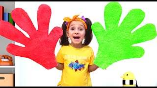 Giant Colorful Arms Playing Clap Your Hands with Ismet and Fatima