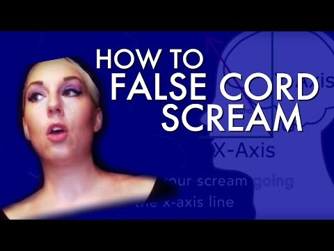 """How to False Cord Scream"" - Voice Hacks by Mary Z - Screamer Series #3"