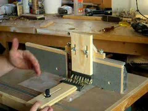 youtube router table