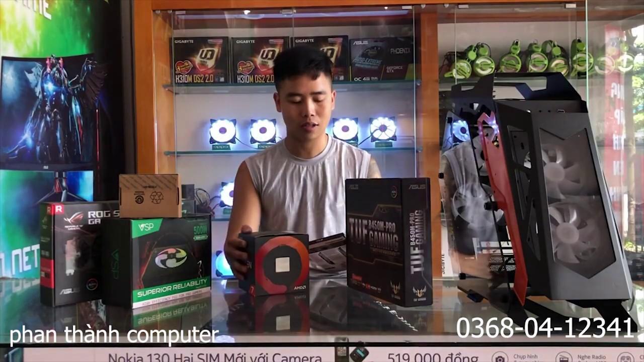 máy tính giá rẻ - pc RYZEN 7 2700X phân khúc hơn 10 triệu maxx all game