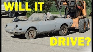 Abandoned Fiat First Start in 30 Years! -- Part 2