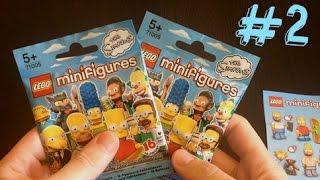 LEGO Симпсоны минифигурки #2