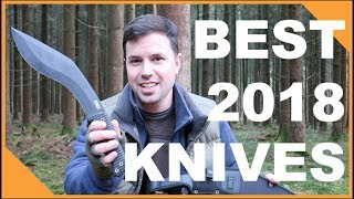 Best Knives of 2018!  [EDC Folding Knives & Fixed Blades]