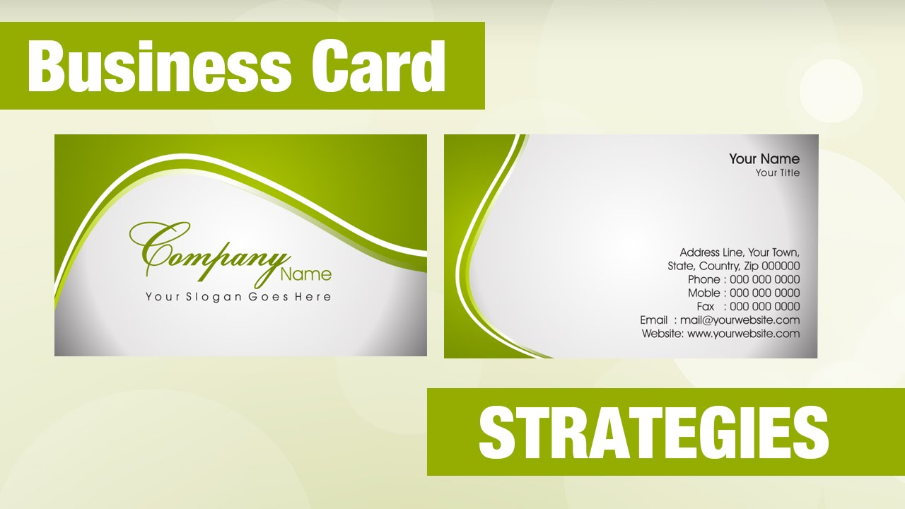 Massage Practice Marketing Business Card Strategies - YouTube