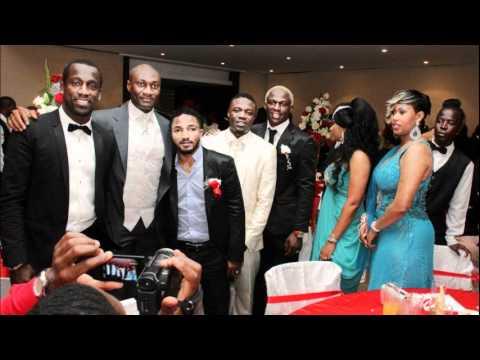 Mariage de Kolo Toure: Eboue Emmanuel, Yaya, Max Gradel, Malick Tohe ...
