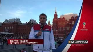 Darko Plavšić Iz Moskve o Drugom Danu Svetskog Prvenstva    SPORT KLUB Fudbal