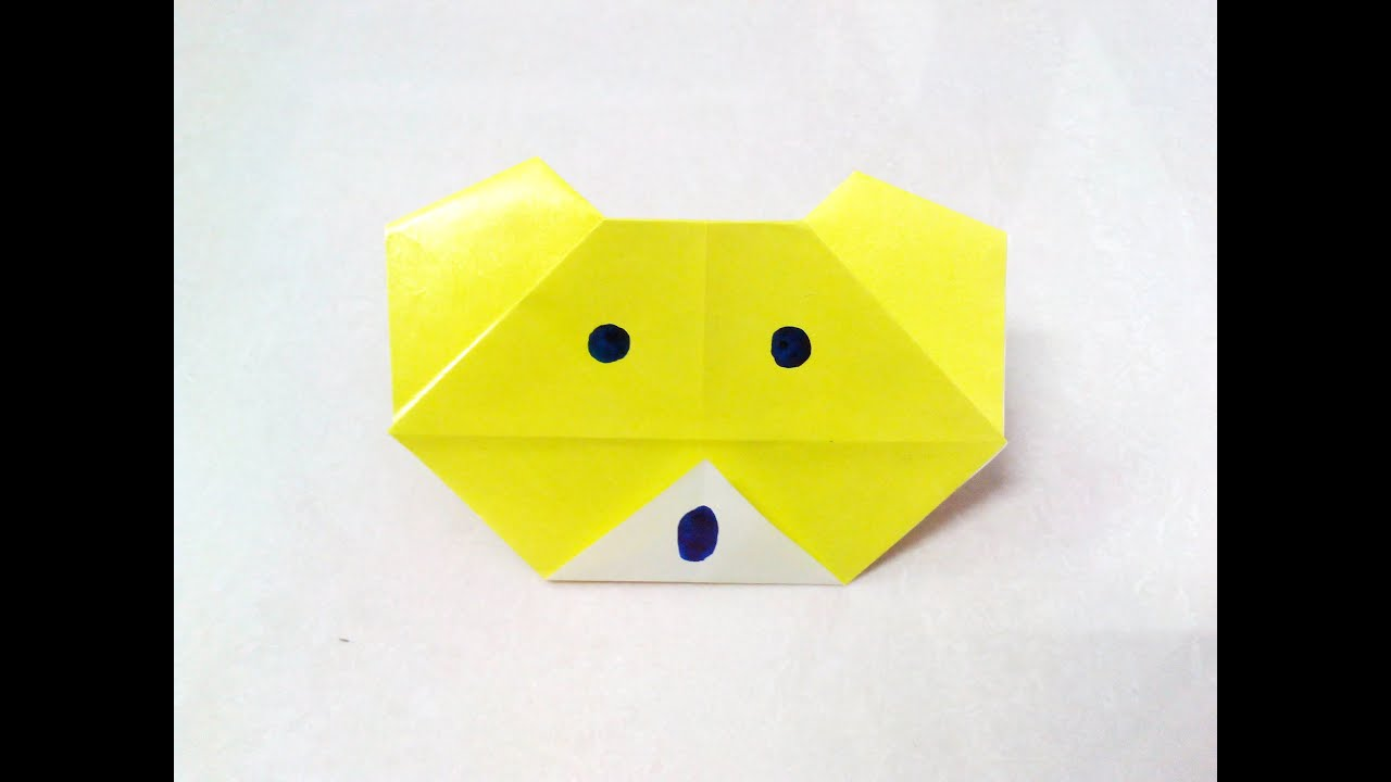 How to make an origami paper bear | Origami / Paper ... - photo#41