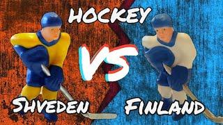 Хоккей   Швеция VS Финляндия