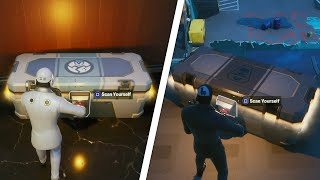 Open a Faction Locked Chest at Different Spy Bases All Locations - Fortnite