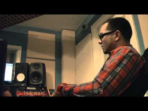 """Reazon in the studio recording @ Project Audio Inc working on """"ReaZonable Doubt"""" Mixtape"""