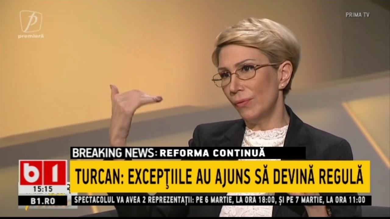 ELIMINAREA SPORURILOR - TURCAN: EXCEPTIILE AU AJUNS SA DEVINA REGULA_Stiri b1_28 februarie 2021